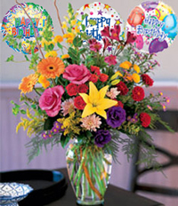 Birthday Flowers - USA